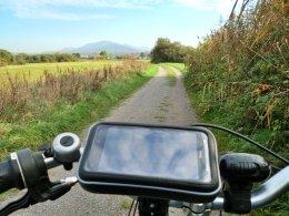 Radfahren im Naturschutzgebiet