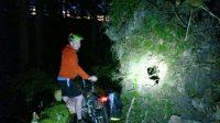 Fahrradtour bei Nacht im Schwarzwald
