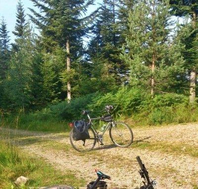 Lange Fahrradtour - Schurmseeblick