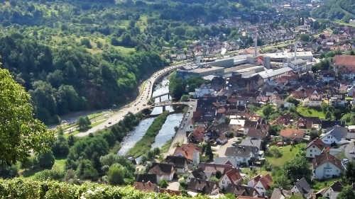 Schloss Ebersteinburg - Murgtal - Ziel für einen Kurztrip