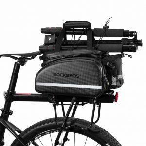 ROCKBROS Fahrrad Hinter Gepäckträgertasche
