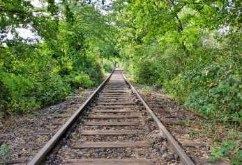 Bahnstrecke stillgelegt